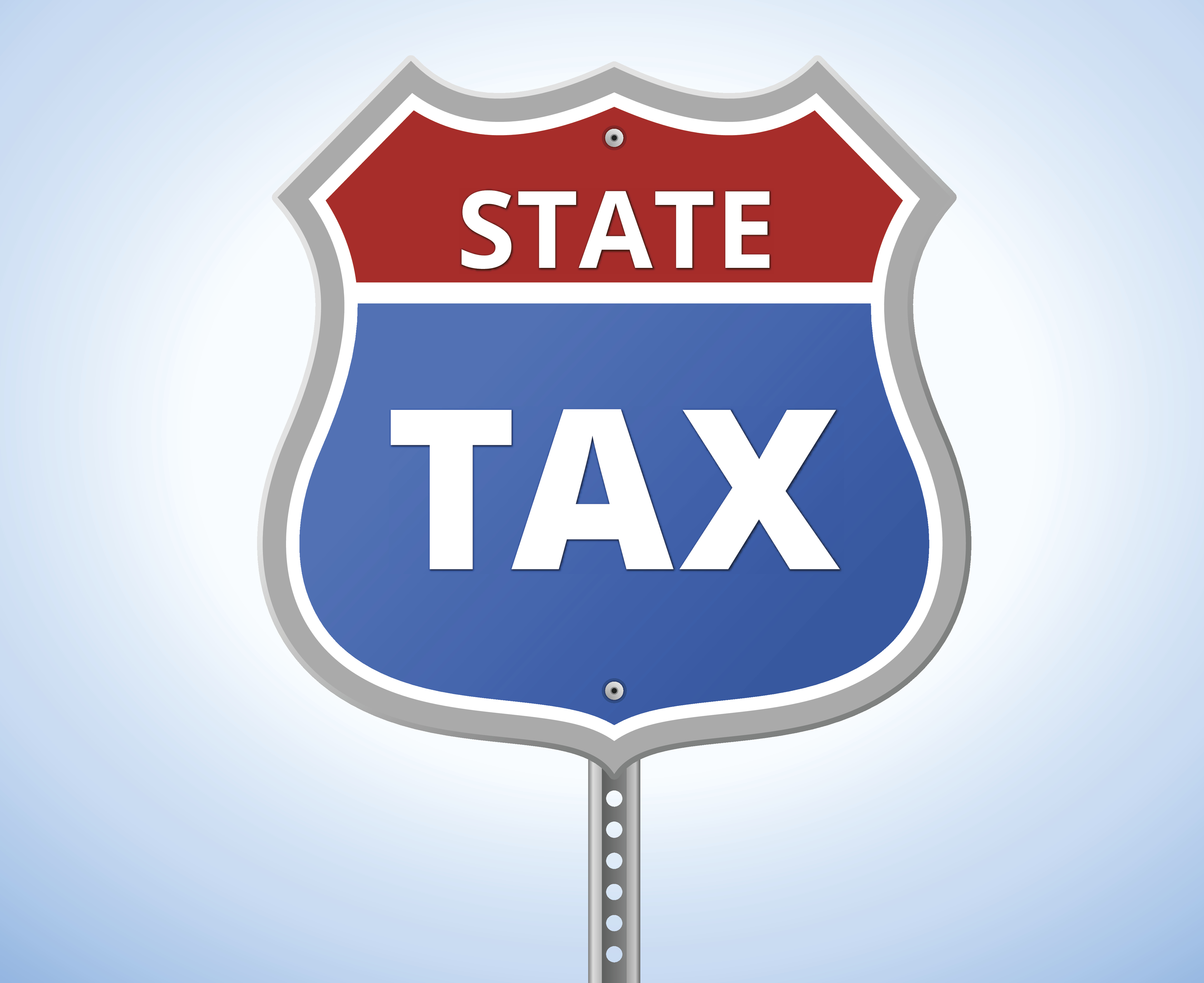State Tax Sign